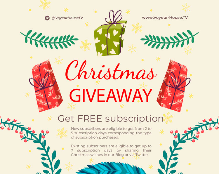Christmas Deal: FREE Subscription days for New subscribers + Gifts For Everyone